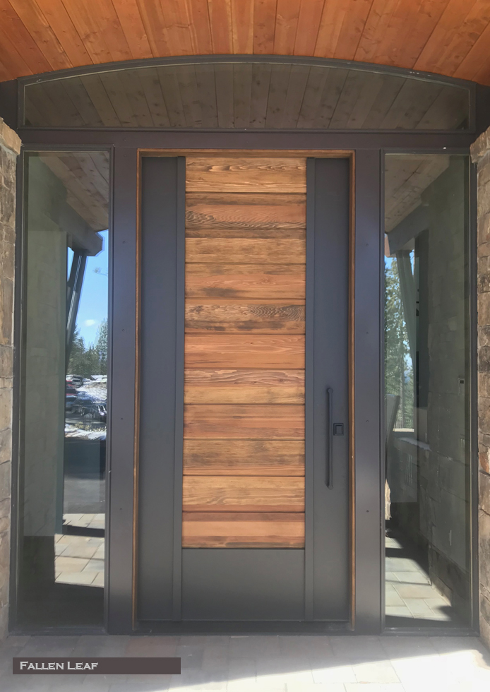 Steel Amp Wood Pivot Doors Red Horse Custom Pivot Doors