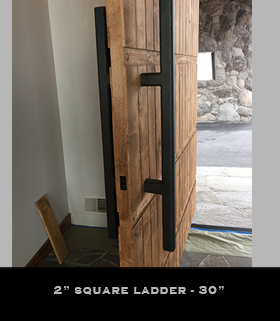 30in square ladder